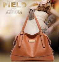 Vintage Oil Wax Leather Bag Women Messenger Bag 2015 Spring fashion Female Handbag High Quality Shoulder Bag Crossbody 6031