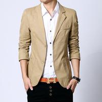 Mens fashion Business Blazer slim fit Jacket casual Suits Blazers Coat two Button suit Men leisure suit jacket  Freeshipping