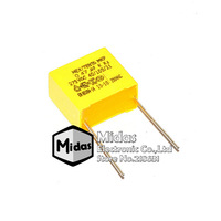 [Midas] Free Shipping 20 PCS/LOT 275V 0.47uF 474K 470nF Pins Width 15MM Polypropylene Film Safety Capacitors