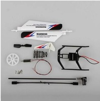 WL Toys V911-2 Main Blades Balance Bar Landing Skid Tail Motor Gear Pipe Buckle Set Rc Spare Parts Part Rc Helicopter