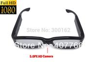 5.0M Cmos Camera ,hidden design eyeglass camera New HD 1080P 1920*1080 5MP V12 Glasses mini Camcorder