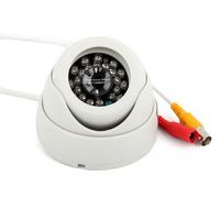 High Quality Waterproof Video Surveillance 540 TVL 24 LED Infrared CCTV 3.6 mm Camera Night Vision IR Housing Security
