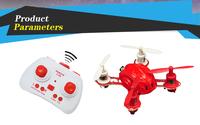 F11950-F11953 HY850 Mini 4-axis Quadcopter 2.4G 6-Axis Gyro 3D Flip RC Quadcopter