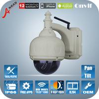 HD 2.0MP 1080P Video Surveillance Dome WIFI Camera 6mm Lens ONVIF H.264 Pan Tilt IR Night Vision CCTV Security Wireless Cameras