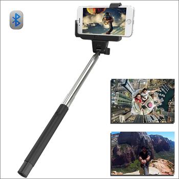 Bluetooth выдвижная автопортрет Selfie ручной придерживайтесь монопод с смартфон Adajustable держатель для iPhone 6 6 плюс 5S 5C
