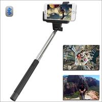 Bluetooth Extendable Self Portrait Selfie Handheld Stick Monopod With Smartphone Adajustable Holder for iPhone 6 6plus 5S 5C