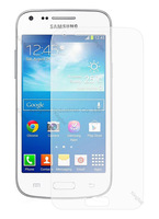 500 pcs/Lot  for Samsung Galaxy Core Plus G3502 Clear Screen Protector Screen Guard  (without packaging)