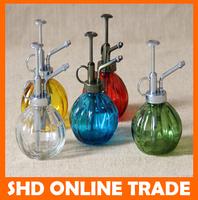 Zakka Vintage Color glass spray bottle vintage watering device water retro pumpkin bottle fleshier plant spray pot Random colors
