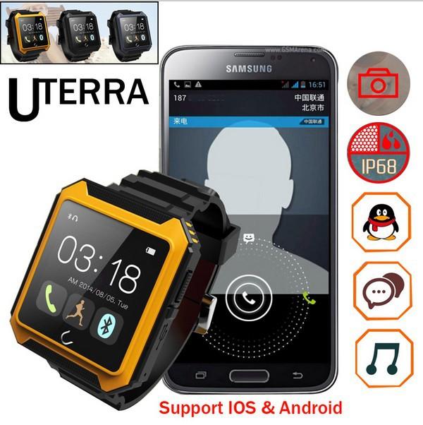 2015 /uterra Bluetooth IP68 IPS android rejoles 2015 wat498