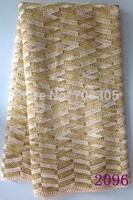 Hot sales hangzhou high grade african guipure lace fabric manufacture