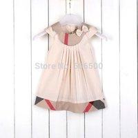 New arrival Free Shipping 2015 new fashion girl summer dress kids dress children dress baby clothing 3649