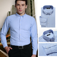 Brand New Modal Oxford Long Sleeve Men Casual Shirts Spring Autumn Male Dress Shirts Business Social Shirts Plus Size