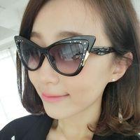 2015 New Women Sunglasses Retro Cat Eye Sun glasses UV400 Protection Shades EyeWear Goggles Oculos De Sol