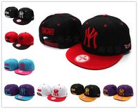 One size fits most YMCMB sport snapback hat NY logo embroidery baseball cap hiphop bone gorras