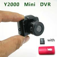 2014 Hot Sale Smallest Mini HD Video Camera 2.0Mega Pixels Pocket DV DVR Camcorder Recorder Spy Hidden Web Cam with 16GB TF card