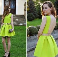 2015 New Party Dress Sexy Women Dress Fashion Chiffon Dress Women Summer & Spring Dress Vestidos Casual Free Shipping