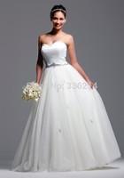2015 Vestidos De Noiva Vintage Long Ball Gown Tulle Sweetheart Wedding Dresses Bride Dress Bridal Gown