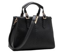 New Fashion Lady Brand Leather Handbags Top Grade Luxurious Women Tote Designer One Shoulder Bag V letter messenger bags BK281