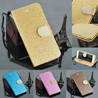 Colourful shiny leather PU cover fashion phone case for iphone 6  PT1644