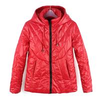 New 2015 Fashion Parkas Spring Female Jacket Women Clothing Winter Coat 4 Colors Overcoat Women Thin Parka Free Shipping 1012