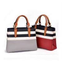 New arrival Patchwork Leather Handbags Designer Brand High Quality 2015 Women Messenger Bag Female Shoulder Bag 6032