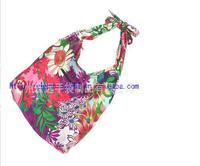 SUMMER National Embroidered bags one shoulder messenger bag cross-body cotton floral women's fashion clutch handbag