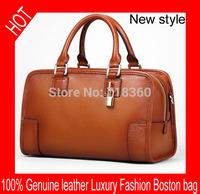 Free shipping 2015 women luxury handbag European and American fashion Vintage shoulder bag genuine leather women messenger bag