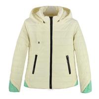 New Fashion 2015 Womens Spring Casual Warm Thin Slim Jacket Female Cotton Hooded Coat Womens Parka Big Size Free Shipping 1022
