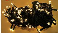 Black line 100 meters LED waterproof black fog lamps lamps lights LED twinkle light waterproof outdoor decoration stage