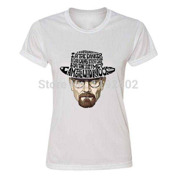 New LOS POLLOS HERMANOS LOGO T Shirt BREAKING BAD women female sports short-sleeve T-shirt(China (Mainland))