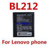 Lenovo A708T A628T A620T gold fighter S8 S898T phone panels BL212 original battery 2000 mA