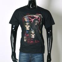 3D printing new summer influx of men's t-shirt skull pattern short sleeve t-shirt for men 3D Death
