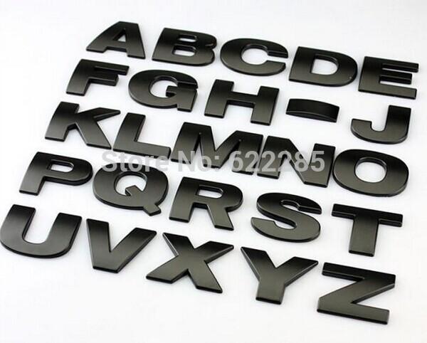 Online Kopen Wholesale Metalen Letters Uit China Metalen