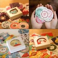 3 Sets(114pieces)/Lot Kawaii Stickers Diary Notebook Photo Album Decoration DIY Scrapbooking Sticker Stationery School Supplies