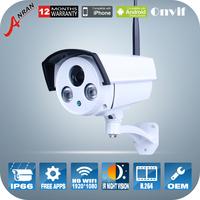 1080P 2.0MP 2IR Infrared Night Vision HD Camera ONVIF H.264 Outdoor Waterproof WiFi Video Surveillance Wireless Security Cameras