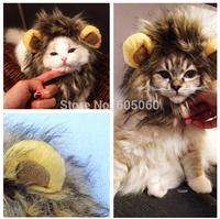 Cat's/Dog's Hat Hair Toy Like Lion Stuffed Plush Pet Toy Lion Mane neckerchief Collar Wigs