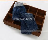 2015 fashion girls jeans floral pattern denim pants for child girl children's jeans 2-3-4-5-6-7-8-9-10years  jeans infantil