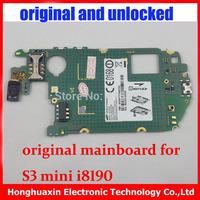 5pcs/lot  Motherboard Europea version original main board for Samsung Galaxy S3 mini I8190 mainboard 100% working system board