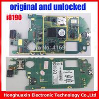 10pcs/lot  Motherboard Europea version original main board for Samsung Galaxy S3 mini I8190 mainboard 100% working system board