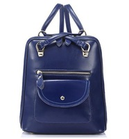6 color options for new oil wax leather shoulder bag, women's fashion casual bags, backpacks