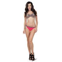 New Bikini 2015 Vitage Print and Sequined Swimwear Push Up Biquini Brasileiro Women Swimsuit