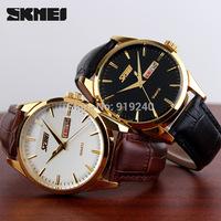 Free shipping 2015 fashion casual Men Personality watch Waterproof Quartz Business Wristwatches 4 colors---gfd