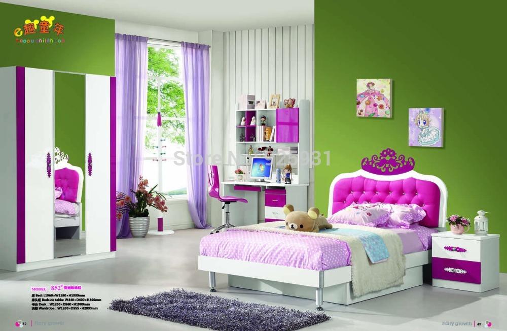 prinses slaapkamer set kind slaapkamer meubilair/kinderkamer meubels ...