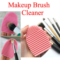 Wholesale 5Pcs Silicone Brush Cleaning Egg Brush Cleaning egg Cosmetic Crush Cleanser Mack up Makeup Brush Cleaner Clean tools