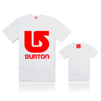12 styles Good Quality print men apparel t shirt Brand Burton fitness slim fit t-shirts men clothing for spring and summer