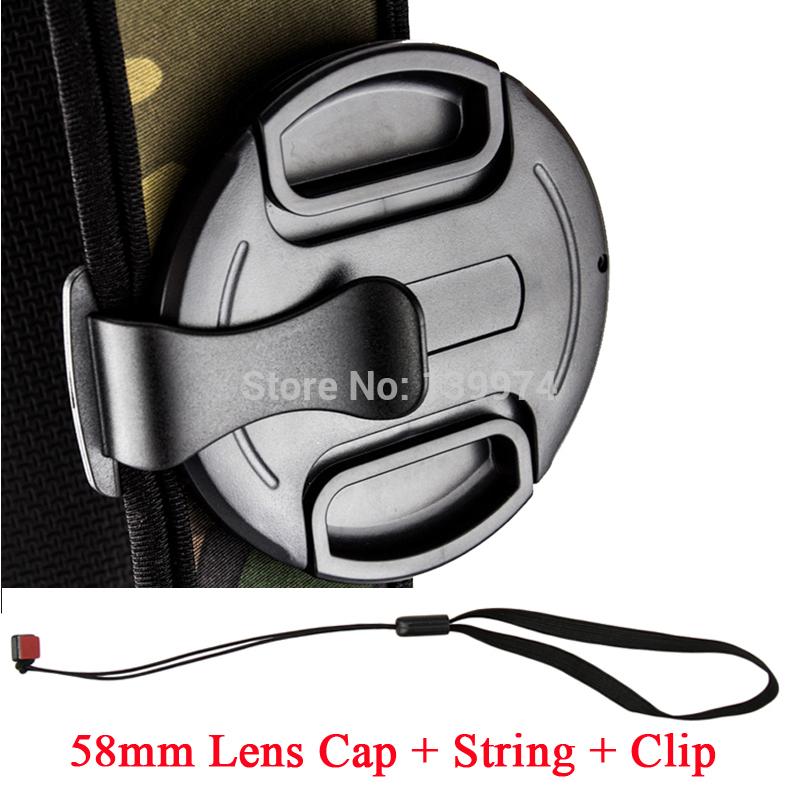 Защитная крышка для объектива JJC LC /58k 58 snap/on + 58 Canon Sony DSLR Nikon LC-58K jjc lc 62
