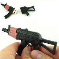 4GB 8GB Hot memory stick  4GB 8GB  Weapon AK-47 Submachine gun Model Plastic Souvenir 2.0 USB Flash drive disk
