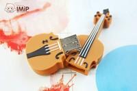 Free shipping Violin model external storage usb flash pen drive disk 2.0 Memory Stick 4GB 8GB