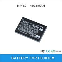 NP-60 1035mAh Camera Battery For Fujifilm M603 F601 F410 F401 Rechargeable Li-ion Battery