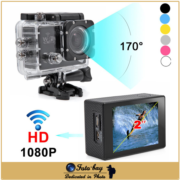 """30M Waterproof Sport DV SJ6000 WiFi Action Camera 12MP 170 Wide Angle Lens Full HD 1080P 30fps 2.0"""" LCD Mini Camcorder DVR(China (Mainland))"""
